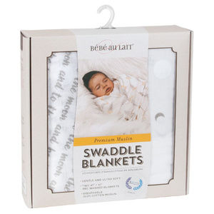 Bebe au Lait set of Swaddle Blankets